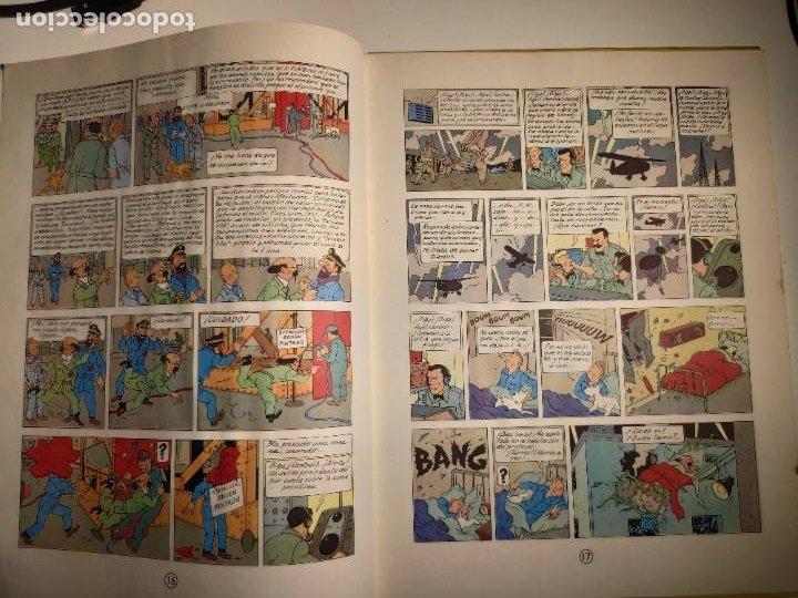 Cómics: TINTIN. OBJETIVO: LA LUNA. EDICIÓN 1965. MUY BUEN ESTADO DE CONSERVACIÓN - Foto 8 - 77578193