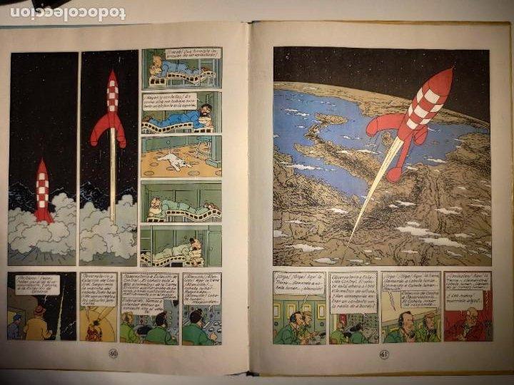 Cómics: TINTIN. OBJETIVO: LA LUNA. EDICIÓN 1965. MUY BUEN ESTADO DE CONSERVACIÓN - Foto 9 - 77578193