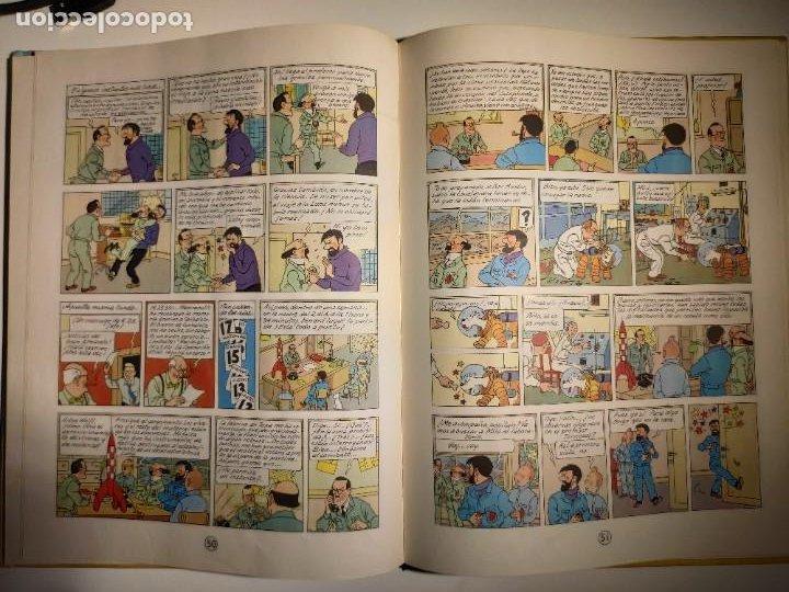 Cómics: TINTIN. OBJETIVO: LA LUNA. EDICIÓN 1965. MUY BUEN ESTADO DE CONSERVACIÓN - Foto 10 - 77578193