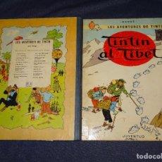 Cómics: (M-22) TINTIN - TINTIN AL TIBET , EDT JUVENTUD 1970 , 2 EDC, EDICIO EN CATALA, POCAS EEÑALES DE USO. Lote 267911524
