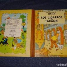 Cómics: (M-22) LAS AVENTURAS DE TINTIN - LOS CIGARROS DEL FARAON , EDT JUVENTUD 1972, 4 EDC. Lote 267911724