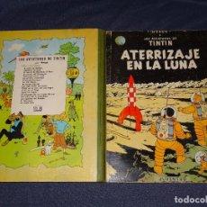 Cómics: LAS AVENTURAS DE TINTIN, ATERRIZAJE EN LA LUNA, EDICION 1965, EDITORIAL JUVENTUD BARCELONA. Lote 267911999