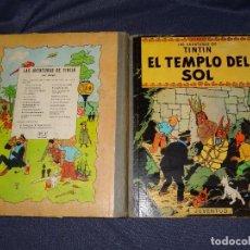 Cómics: (M-22) LAS AVENTURAS DE TINTIN - EL TEMPLO DEL SOL, EDT JUVENTUD1969 , 4 EDC, SEÑALES DE USO. Lote 267912454