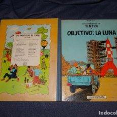 Cómics: (M) LAS AVENTURAS DE TINTIN - OBJETIVO LA LUNA ,EDT JUVENTUD 5 EDC 1969, POCAS SEÑALES DE USO. Lote 267961444