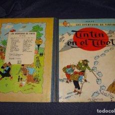 Cómics: LAS AVENTURAS DE TINTIN - TINTIN EN EL TIBET , 4 EDC 1970 , EDT JUVENTUD , SEÑALES DE USO. Lote 268010604