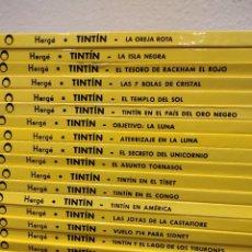 Comics: LAS AVENTURAS DE TINTIN - CÍRCULO DE LECTORES - JUVENTUD - 23 TOMOS TAPA DURA, COMPLETA, HERGÉ. Lote 268256709