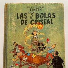 Cómics: TINTIN LAS SIETE BOLAS DR CRISTAL - LOMO TELA AÑO 1967. Lote 268476479