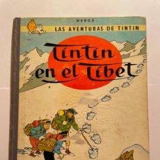 Cómics: TINTIN EN EL TIBET - LOMO TELA AÑO 1967. Lote 268476589