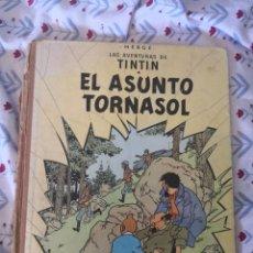 Cómics: TINTIN EL ASUNTO TORNASOL SEGUNDA EDICION LOMO DE TELA 1965. Lote 268614839