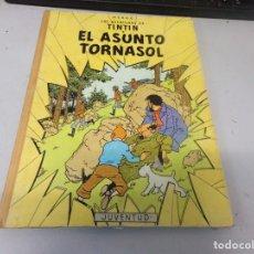 Cómics: TINTIN - EL ASUNTO TORNASOL - JUVENTUD - LOMO DE TELA - CUARTA EDICIÓN 1972. Lote 269142398
