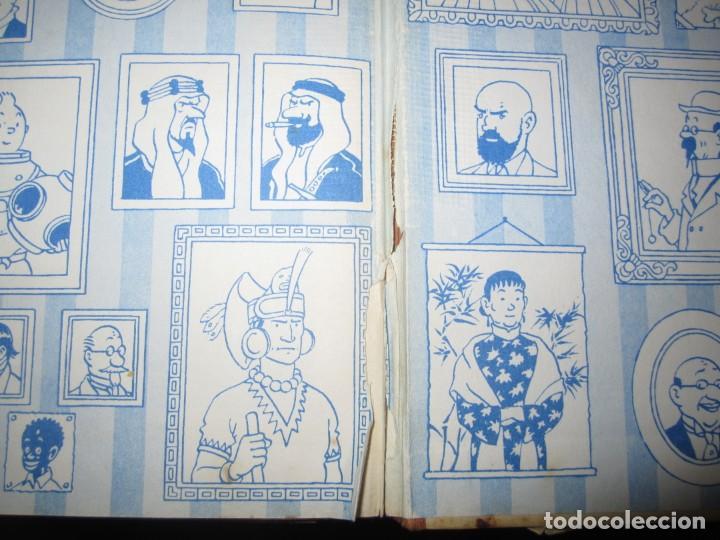 Cómics: LAS AVENTURAS DE TINTIN -TINTIN EN AMERICA --HERGE 1968 BARCELONA 1º EDICION - Foto 10 - 269172743