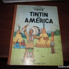 Cómics: LAS AVENTURAS DE TINTIN -TINTIN EN AMERICA --HERGE 1968 BARCELONA 1º EDICION. Lote 269172743