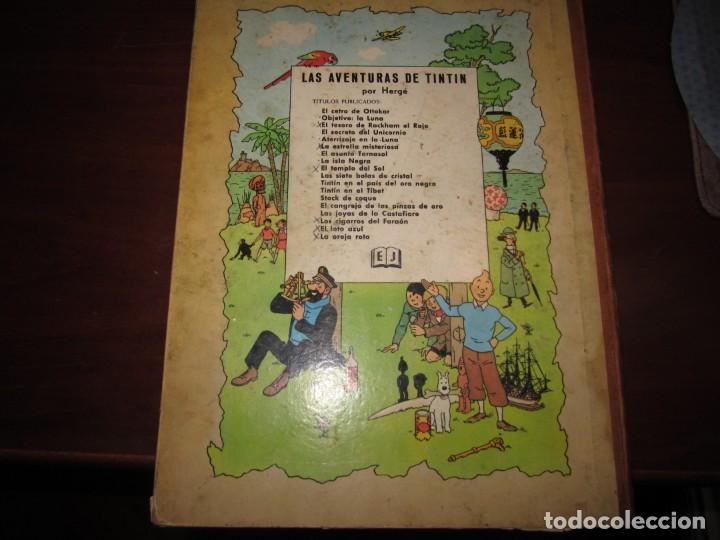 Cómics: LAS AVENTURAS DE TINTIN -TINTIN EN AMERICA --HERGE 1968 BARCELONA 1º EDICION - Foto 11 - 269172743
