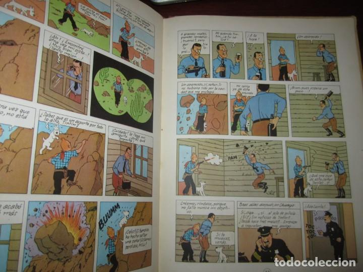 Cómics: LAS AVENTURAS DE TINTIN -TINTIN EN AMERICA --HERGE 1968 BARCELONA 1º EDICION - Foto 6 - 269172743
