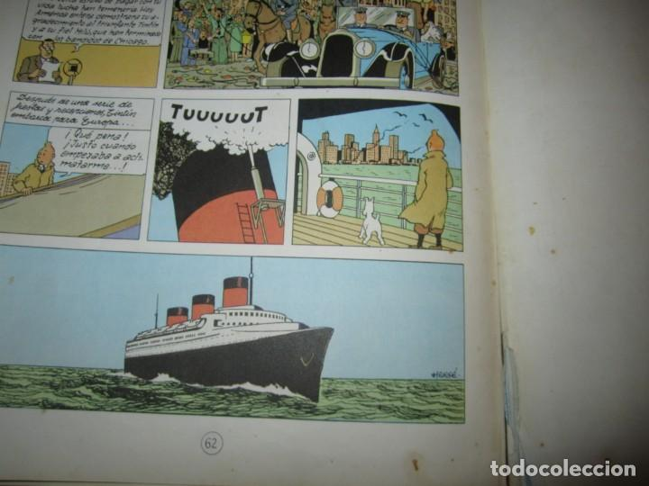 Cómics: LAS AVENTURAS DE TINTIN -TINTIN EN AMERICA --HERGE 1968 BARCELONA 1º EDICION - Foto 8 - 269172743