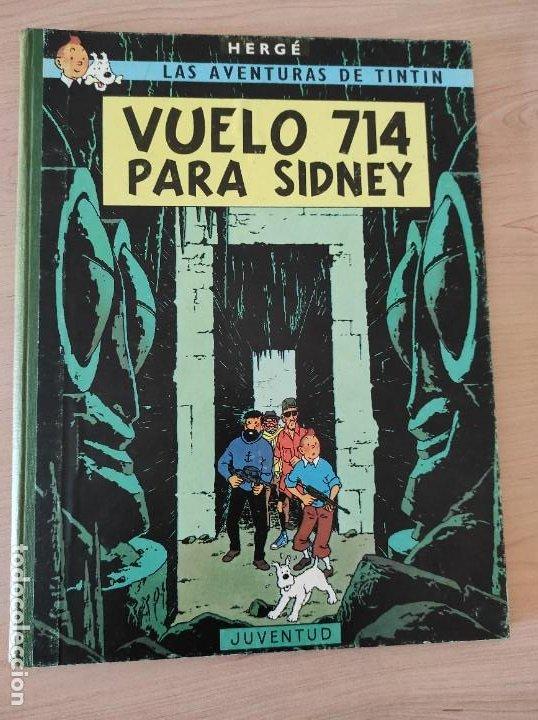 TINTIN. VUELO 714 PARA SIDNEY. SEGUNDA EDICIÓN (Tebeos y Comics - Juventud - Tintín)