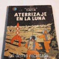 Cómics: ATERRIZAJE EN LA LUNA. TINTIN. JUVENTUD. 1ª EDICIÓN 1959. VER FOTOS. Lote 269406048