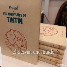 Cómics: LES AVENTURES DE TINTIN. EDITORIAL JOVENTUT. GUÁLFLEX. 6 TOMOS. EN CATALÀ. Lote 269418263