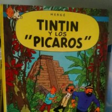 Cómics: HERGE - TINTIN Y LOS PICAROS. Lote 269453088