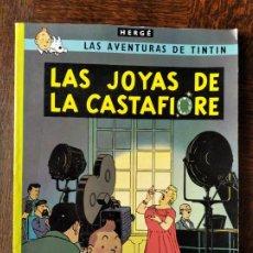 Cómics: LAS AVENTURAS DE TINTIN. LAS JOYAS DE CASTAFIORE - JUVENTUD ALBUM RUSTICA. Lote 269606353
