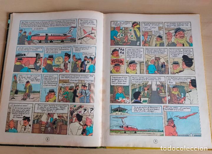 Cómics: Tintin Vuelo 714 para Sidney. 1ª edición. Ed. Juventud. lomo de tela. Buen estado. - Foto 9 - 269682603