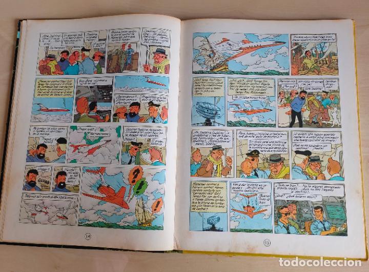 Cómics: Tintin Vuelo 714 para Sidney. 1ª edición. Ed. Juventud. lomo de tela. Buen estado. - Foto 10 - 269682603
