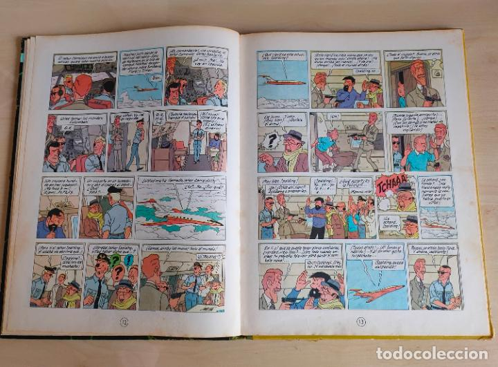Cómics: Tintin Vuelo 714 para Sidney. 1ª edición. Ed. Juventud. lomo de tela. Buen estado. - Foto 11 - 269682603