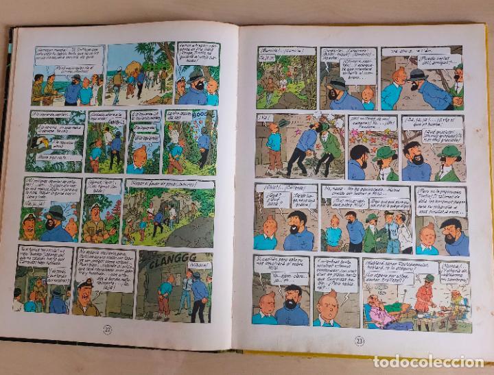 Cómics: Tintin Vuelo 714 para Sidney. 1ª edición. Ed. Juventud. lomo de tela. Buen estado. - Foto 13 - 269682603