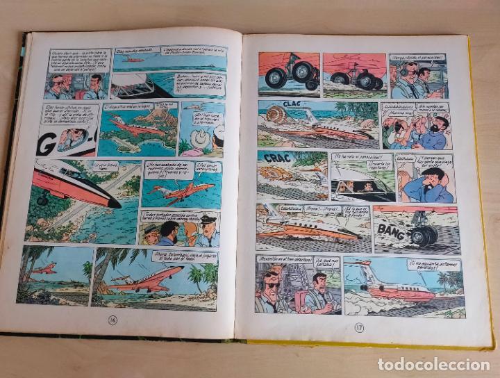 Cómics: Tintin Vuelo 714 para Sidney. 1ª edición. Ed. Juventud. lomo de tela. Buen estado. - Foto 14 - 269682603
