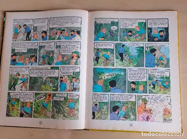 Cómics: Tintin Vuelo 714 para Sidney. 1ª edición. Ed. Juventud. lomo de tela. Buen estado. - Foto 17 - 269682603