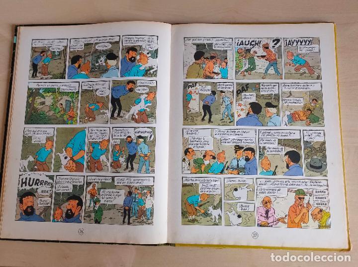 Cómics: Tintin Vuelo 714 para Sidney. 1ª edición. Ed. Juventud. lomo de tela. Buen estado. - Foto 18 - 269682603