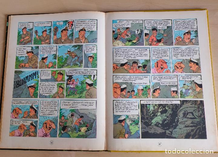 Cómics: Tintin Vuelo 714 para Sidney. 1ª edición. Ed. Juventud. lomo de tela. Buen estado. - Foto 23 - 269682603
