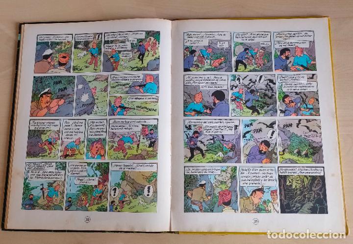 Cómics: Tintin Vuelo 714 para Sidney. 1ª edición. Ed. Juventud. lomo de tela. Buen estado. - Foto 24 - 269682603