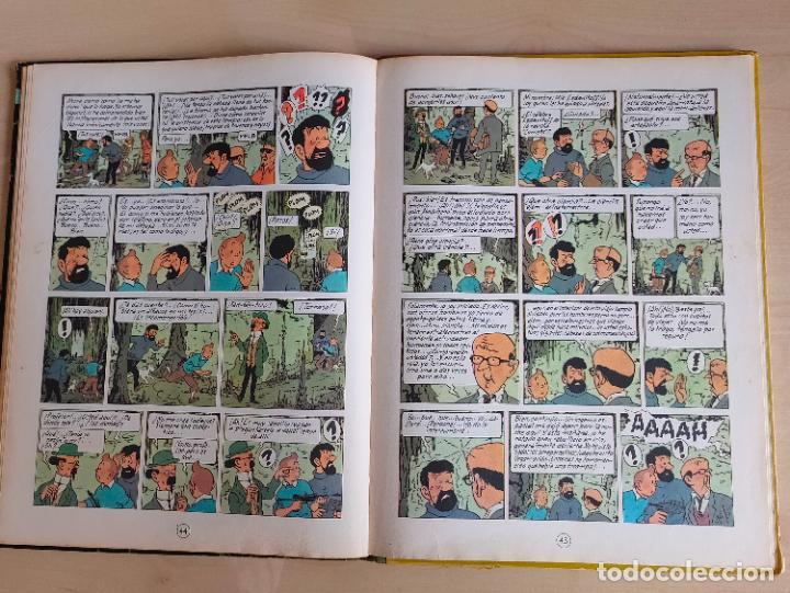 Cómics: Tintin Vuelo 714 para Sidney. 1ª edición. Ed. Juventud. lomo de tela. Buen estado. - Foto 27 - 269682603