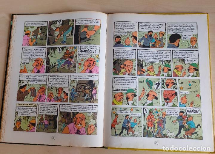 Cómics: Tintin Vuelo 714 para Sidney. 1ª edición. Ed. Juventud. lomo de tela. Buen estado. - Foto 29 - 269682603