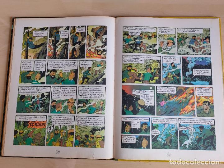 Cómics: Tintin Vuelo 714 para Sidney. 1ª edición. Ed. Juventud. lomo de tela. Buen estado. - Foto 30 - 269682603