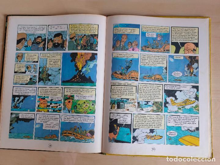 Cómics: Tintin Vuelo 714 para Sidney. 1ª edición. Ed. Juventud. lomo de tela. Buen estado. - Foto 32 - 269682603