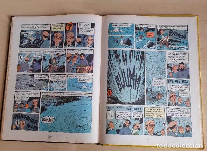 Cómics: Tintin Vuelo 714 para Sidney. 1ª edición. Ed. Juventud. lomo de tela. Buen estado. - Foto 33 - 269682603
