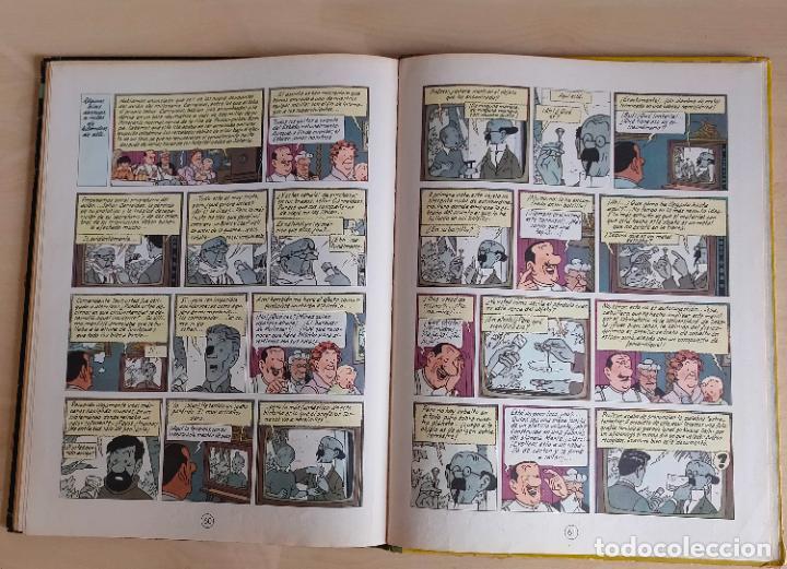Cómics: Tintin Vuelo 714 para Sidney. 1ª edición. Ed. Juventud. lomo de tela. Buen estado. - Foto 34 - 269682603