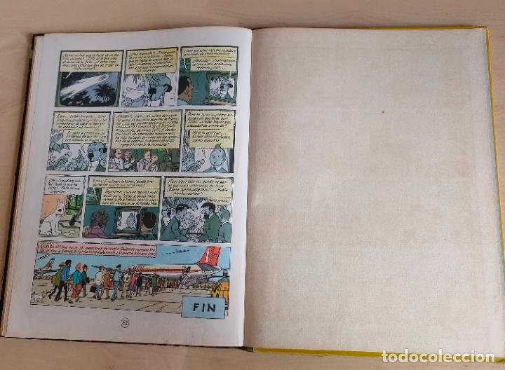 Cómics: Tintin Vuelo 714 para Sidney. 1ª edición. Ed. Juventud. lomo de tela. Buen estado. - Foto 35 - 269682603