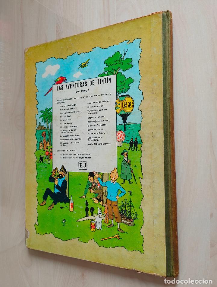 Cómics: Tintin Vuelo 714 para Sidney. 1ª edición. Ed. Juventud. lomo de tela. Buen estado. - Foto 37 - 269682603