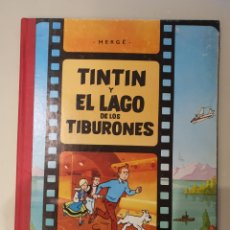 Fumetti: TINTIN Y EL LAGO DE LOS TIBURONES, LOMO DE TELA , JUVENTUD. Lote 269958243