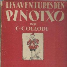 Cómics: LES AVENTURES D´EN PINOTXO, 1934, JUVENTUD, PRIMERA EDICIÓN, USADO. COLECCIÓN A.T.. Lote 270087993