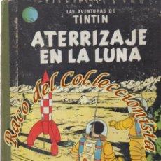 Cómics: TINTIN ATERRIZAJE EN LA LUNA, HERGE, JUVENTUD LOMO TELA, 3A. EDICION, 1965. Lote 270123498