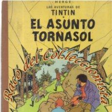 Cómics: TINTIN EL ASUNTO TORNASOL, HERGE, JUVENTUD LOMO TELA, 2A. EDICION, 1965. Lote 270124683