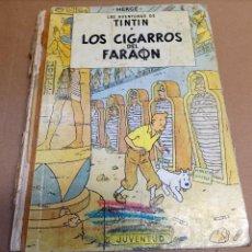 Cómics: TINTIN. LOS CIGARROS DEL FARAÓN.LOMO TELA. PRIMERA EDICIÓN 1964. Lote 270157133