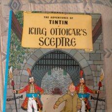Cómics: TINTIN IDIOMAS - EL CETRO DE OTTOKAR / KING OTTOKAR S SCEPTRE - INGLES - MAMMOTH. Lote 270165518