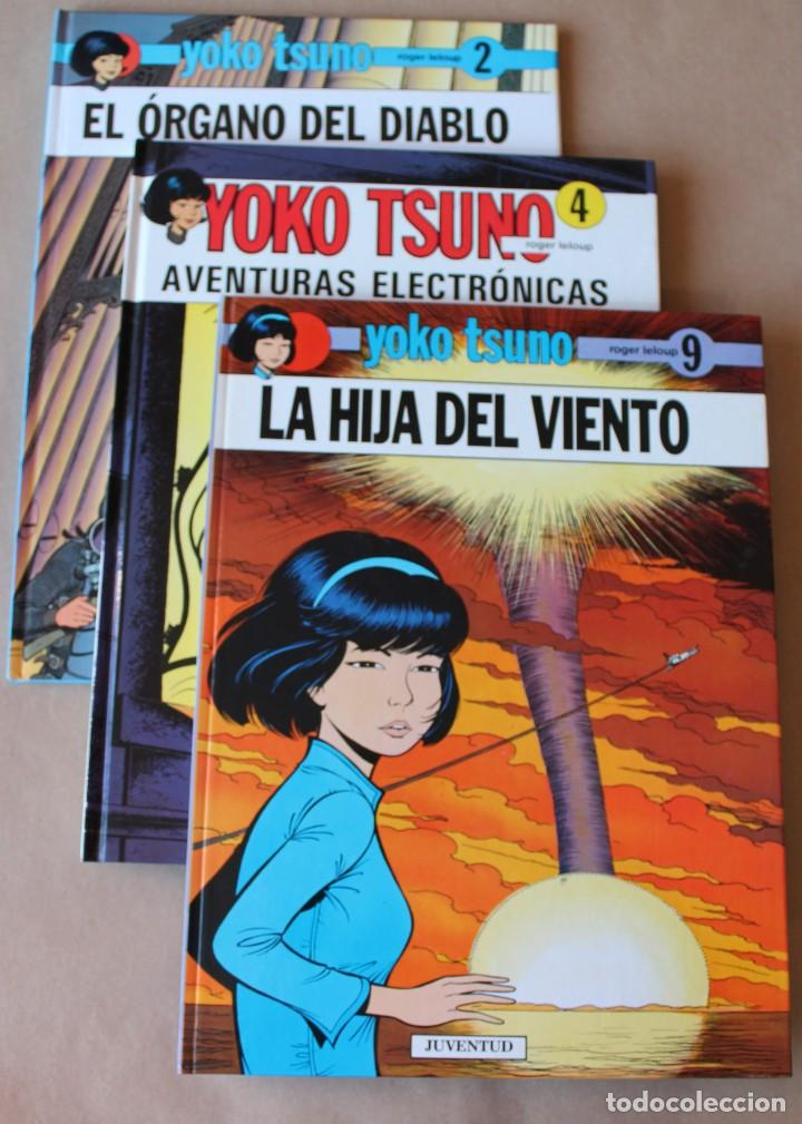 LOTE RESERVADO ---------------- YOKO TSUNO - 2 EL ÓRGANO DEL DIABLO 4 AVENTURAS ELECTRÓNICAS (Tebeos y Comics - Juventud - Yoko Tsuno)