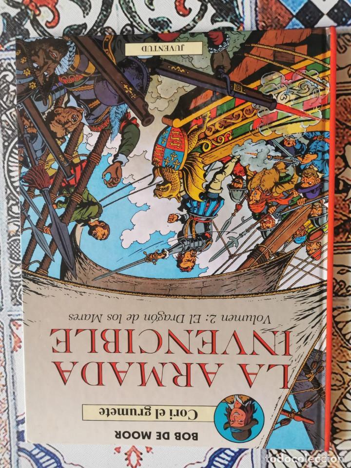 Cómics: CORI EL GRUMETE - LA ARMADA INVENCIBLE - VOLUMEN -2 EL DRAGON DE LOS MARES - Foto 3 - 270901818