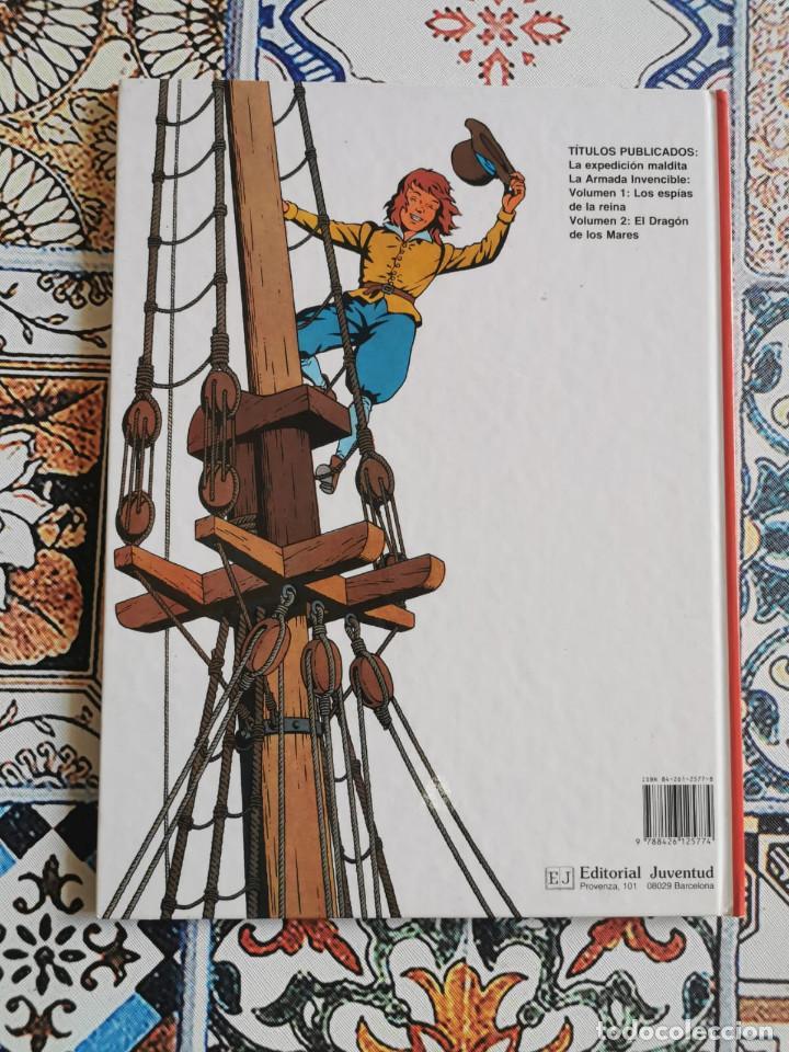 Cómics: CORI EL GRUMETE - LA ARMADA INVENCIBLE - VOLUMEN -2 EL DRAGON DE LOS MARES - Foto 5 - 270901818
